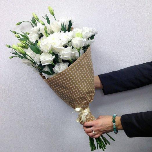 Лизиантусы: букеты цветов на заказ Flowwow