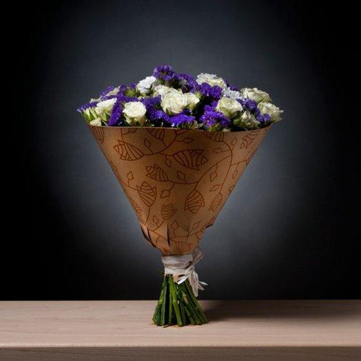 Сборный букет с розами: букеты цветов на заказ Flowwow