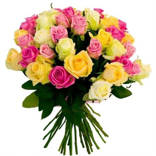 Букет Радуга цветов: букеты цветов на заказ Flowwow