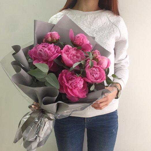 Пионы садовые: букеты цветов на заказ Flowwow