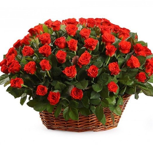 101 red roses: flowers to order Flowwow