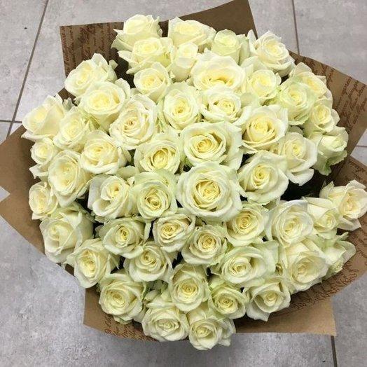 Букет из 51 российской розы