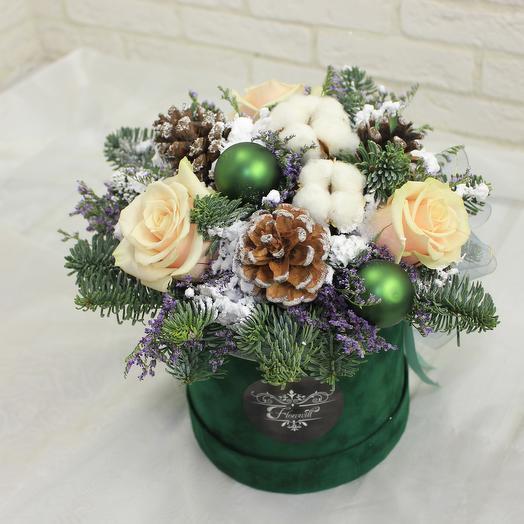 Зимняя пора: букеты цветов на заказ Flowwow