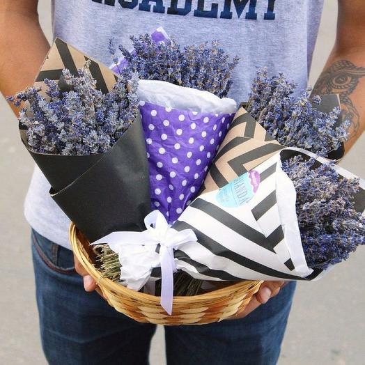 Букет Lavanda: букеты цветов на заказ Flowwow