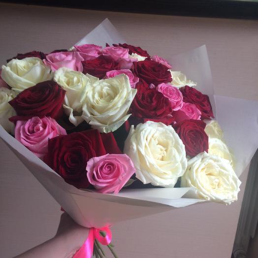 31 роза для самых родных: букеты цветов на заказ Flowwow