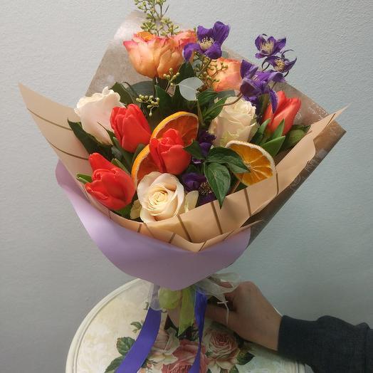 """Средиземноморье"": букеты цветов на заказ Flowwow"