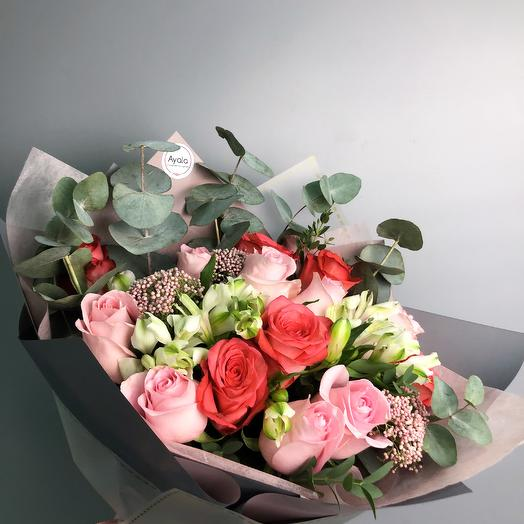 Вивьен: букеты цветов на заказ Flowwow