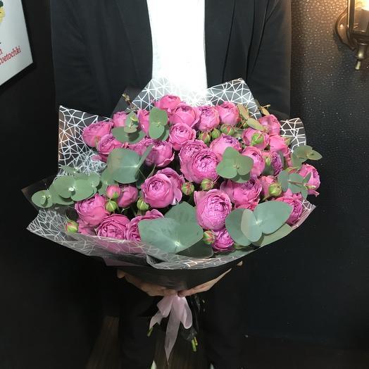Мистер Баблззз: букеты цветов на заказ Flowwow