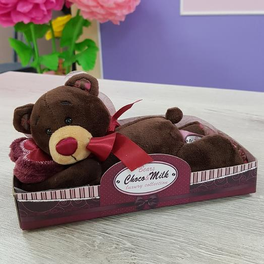 Медведь лежебока: букеты цветов на заказ Flowwow