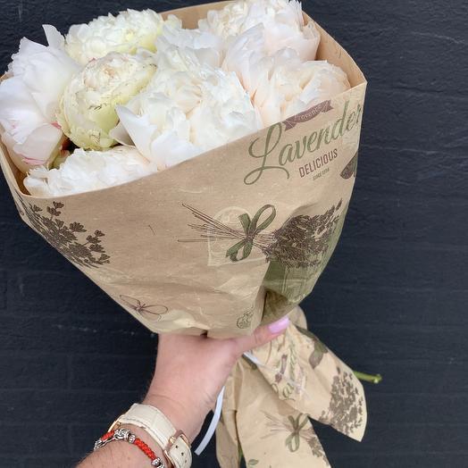 Белая пудра: букеты цветов на заказ Flowwow
