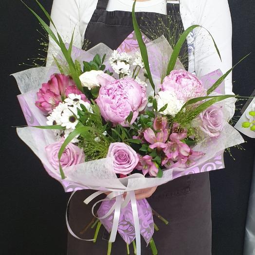 Сиреневые сны: букеты цветов на заказ Flowwow