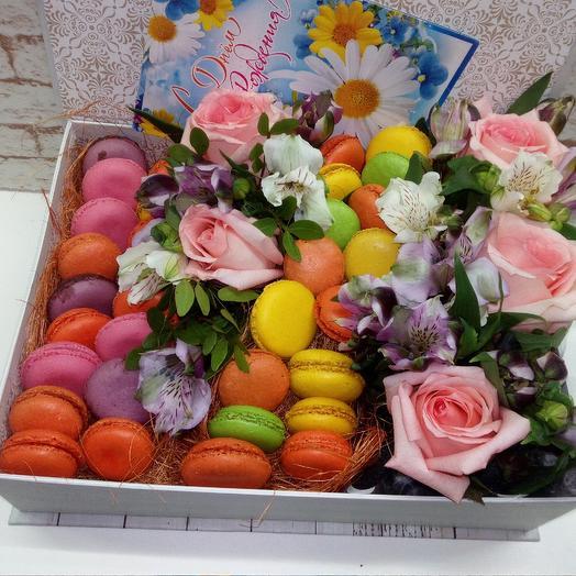 Макарунцы: букеты цветов на заказ Flowwow