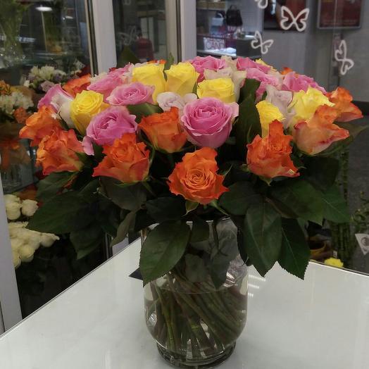 Букет из 25 мини роз