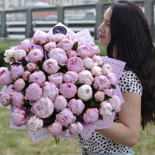 Французские пионы: букеты цветов на заказ Flowwow
