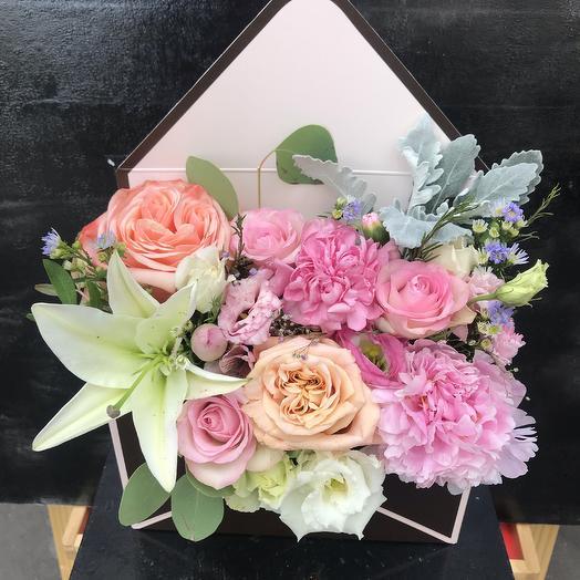 Конверт Радости 💗: букеты цветов на заказ Flowwow