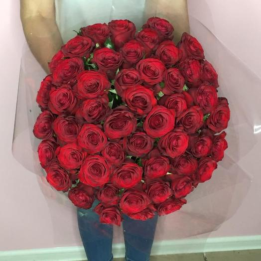 51 Бордовая Роза Престиж: букеты цветов на заказ Flowwow