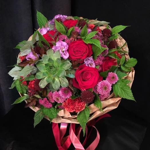 Букет-«Экзо»: букеты цветов на заказ Flowwow