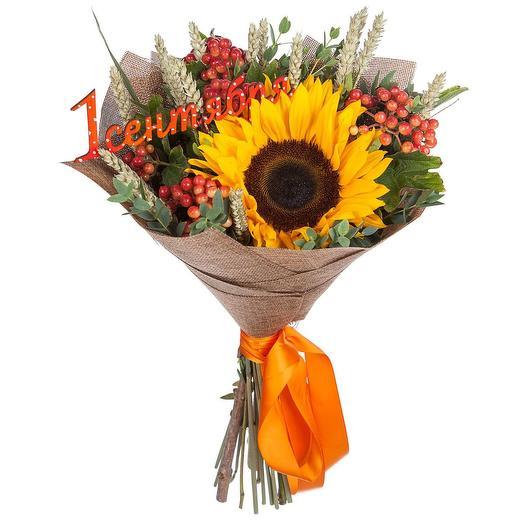 Букет на 1 сентября: букеты цветов на заказ Flowwow