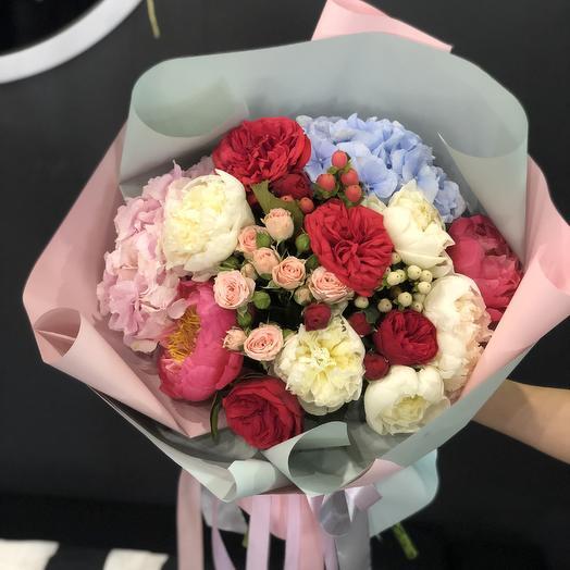Букет «зефирный»: букеты цветов на заказ Flowwow