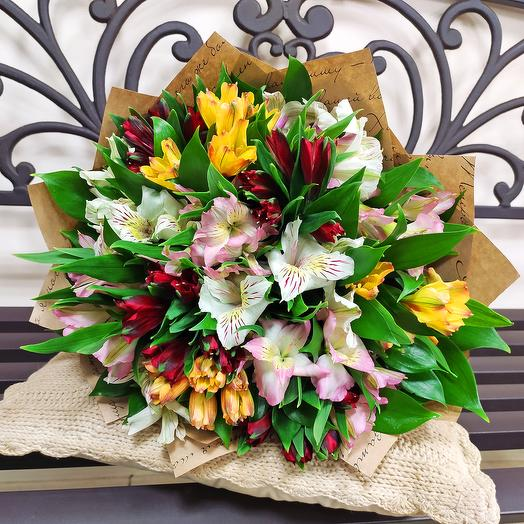 Spring bouquet - Alstroemeria 15