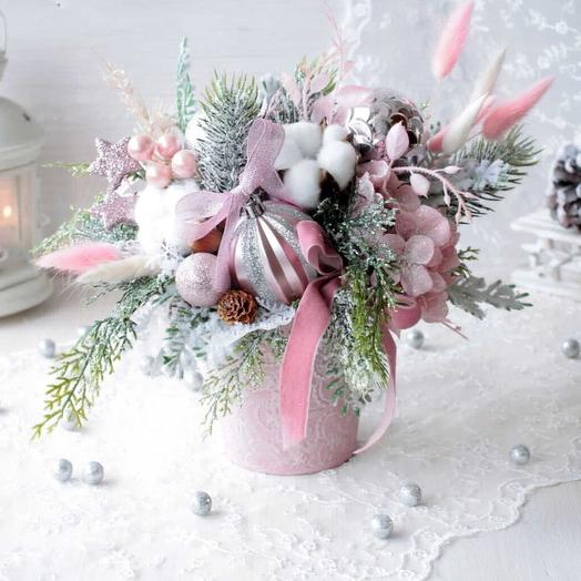 Ванильный снег: букеты цветов на заказ Flowwow