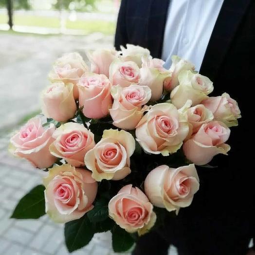Розовый снег: букеты цветов на заказ Flowwow