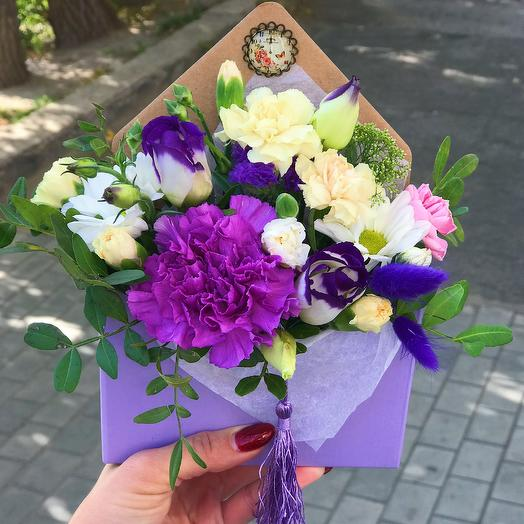 Цветочный конверт «Луна»