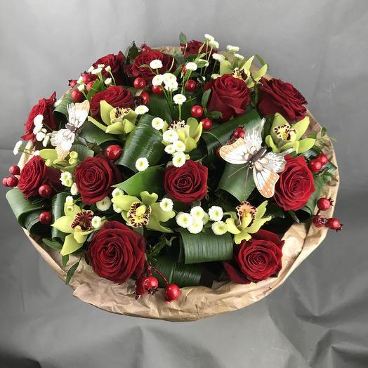 Букет классик: букеты цветов на заказ Flowwow