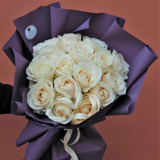 Крупные эквадорские розы по супер-цене: букеты цветов на заказ Flowwow