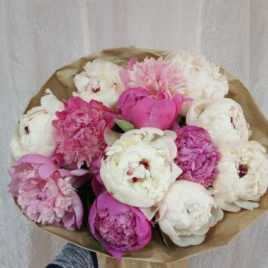 Peony mix: flowers to order Flowwow