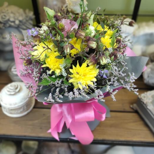 Букетик из полевых цветов: букеты цветов на заказ Flowwow