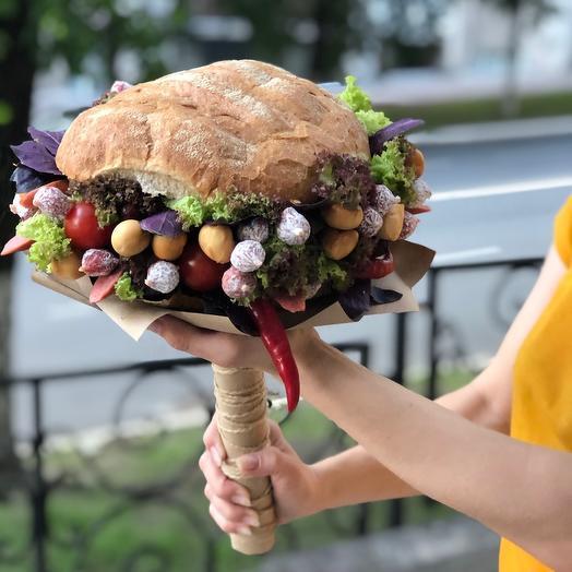 Огромный бургер