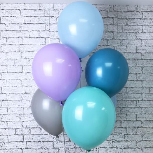 7 шариков пастель Холодные