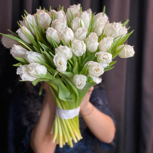Тюльпан нежность
