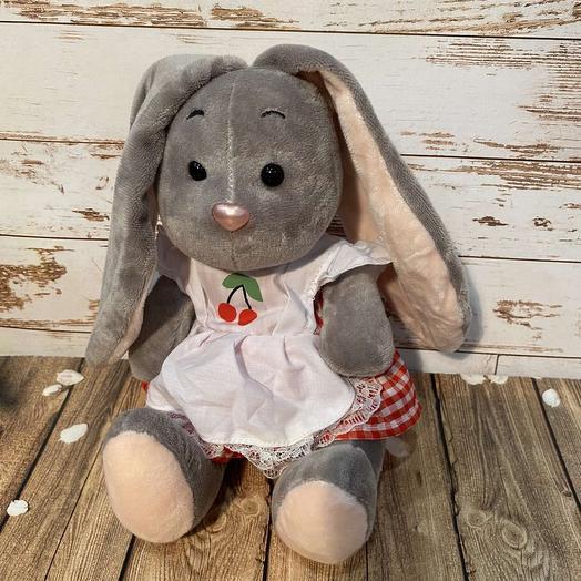 bunny in a sundress