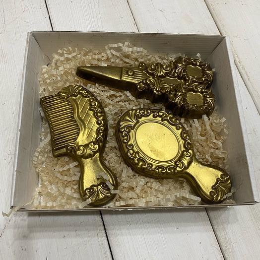 Шоколад ручной работы для девушки (на день рождения, 14 Февраля, 8 Марта)