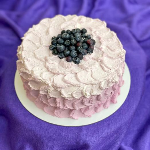 Торт «Сиреневая мечта»