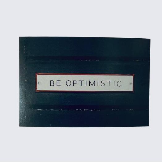 Открытка почтовая Be optimistic