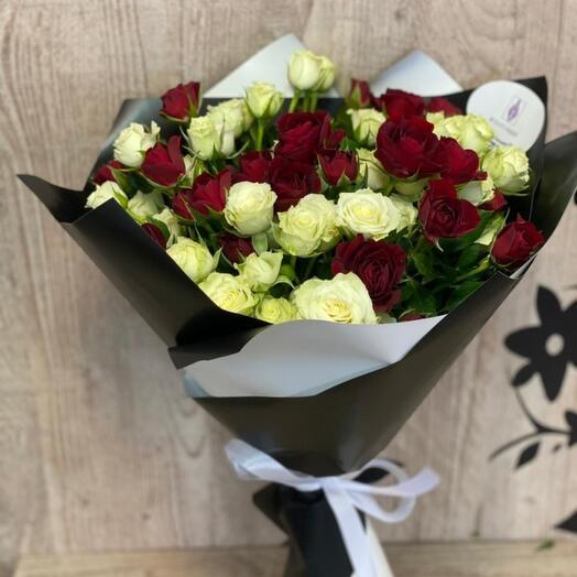 Классика кустовые роз
