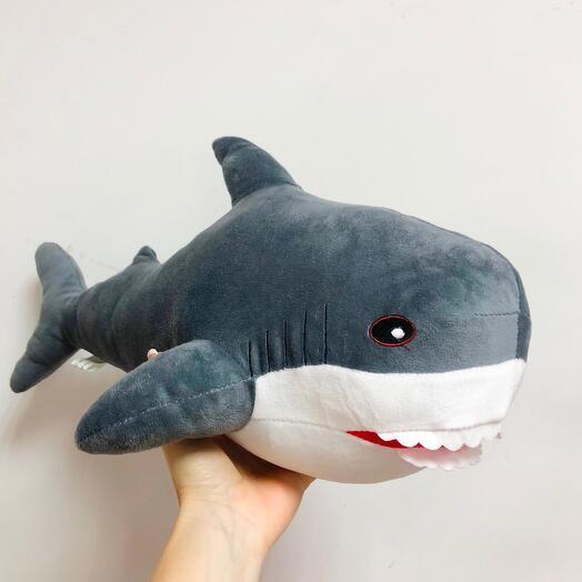Акула grey 50см