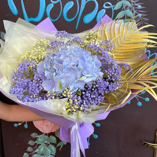 Букет Голубая лагуна