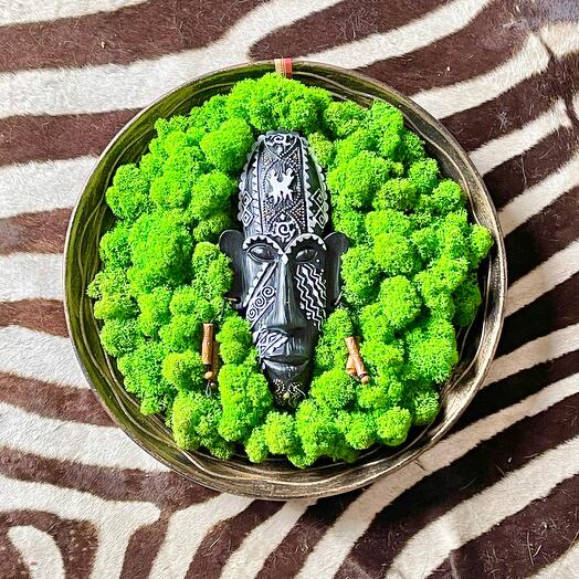 Декоративная тарелка Туземец в оазисе