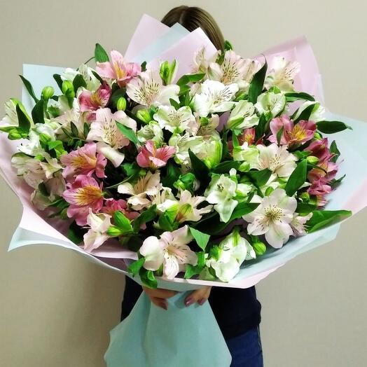 Bouquet Of Alstroemerias
