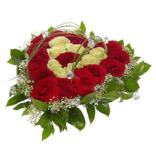 Сердечка: букеты цветов на заказ Flowwow