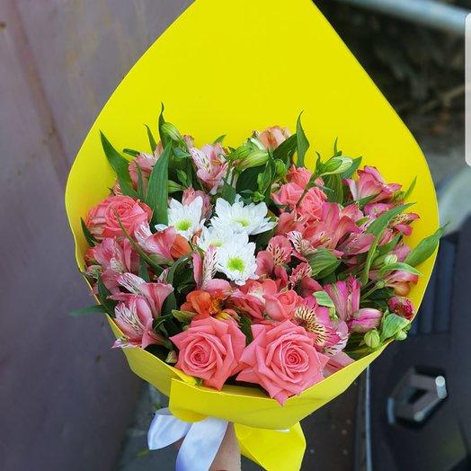 Букет Яркое Солнце: букеты цветов на заказ Flowwow