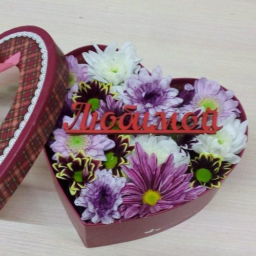 Послание в коробке: букеты цветов на заказ Flowwow