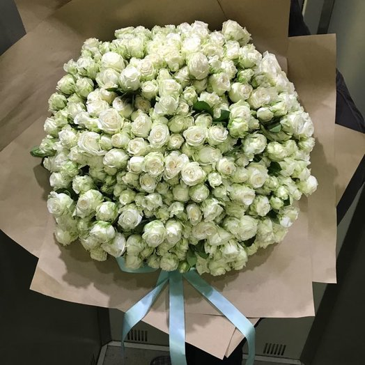101 Кустовая роза : букеты цветов на заказ Flowwow