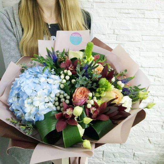 """Букет """"Марсала"""": букеты цветов на заказ Flowwow"""