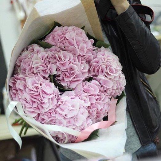 Букет из королевской гортензии: букеты цветов на заказ Flowwow
