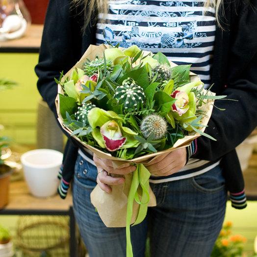 """Букет цветов """"Кактусы"""": букеты цветов на заказ Flowwow"""
